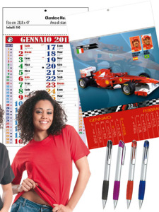 Calendari, Gadgets pubblicitari